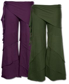 Waves of freedom pants - the purple ones would look super rad with my Keller Williams shirt.