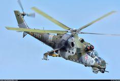 Czech - Air Force – Mil Mi-24V Hind 7357