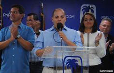 Ricky Rodríguez radica como Presidente Municipal del PNP en Comerío