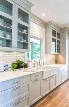 Modern Kitchen Cabinets - CHECK THE PICTURE for Various Kitchen Cabinet Ideas. 73479589 #kitchencabinets #kitchendesign