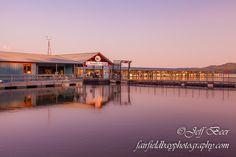 The Fairfield Bay Marina on Greer's Ferry Lake in Van Buren County, Arkansas
