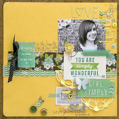 Live Simply *American Crafts* - Scrapbook.com