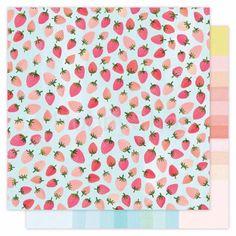 Hazelwood - Forest Berry scrapbook papier 12x12 inch