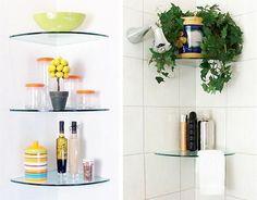 Shower Corner Shelf for Shower Units with Amazing Design Inspiration - Hupehome Shower Corner Shelf, Glass Corner Shelves, Wine Glass Shelf, Glass Shelf Brackets, Glass Shelves In Bathroom, Floating Glass Shelves, Shower Shelves, Mounting Brackets, Corner Desk