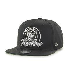 100% authentic 13e12 f10a0 Oakland Raiders Virapin Black 47 Brand Adjustable Hat