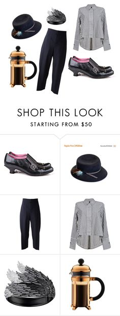 Coffee before leaving by fashionmaven-208 on Polyvore featuring Chloé, AS29, shoes, 2016trends and luccashoes