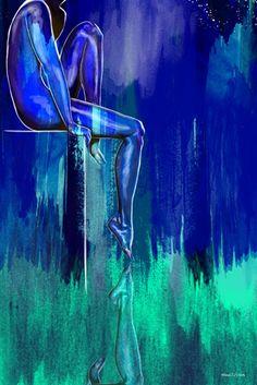 "Maxwell Dickson canvas art ""Night Watch"""