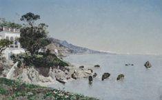 Martín Rico - Villa junto al mar