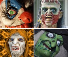 High end halloween masks!! Who wears a mask with their halloween costume as the new designs are so life like! #halloweenmasks #scarymasks #halloween #costumemask #witchmask #adultmask