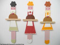 DIY Popsicle bookmarks by La classe della maestra Valentina