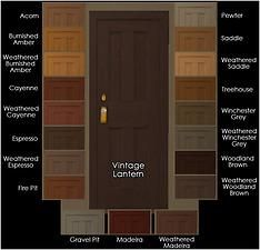 Mod The Sims - 3 Maxis Base-Game Interior Doors Recolored