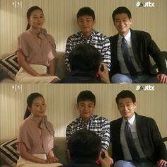 Hye Won dan Sun Jae berusaha untuk tidak kaku di depan prof Kang