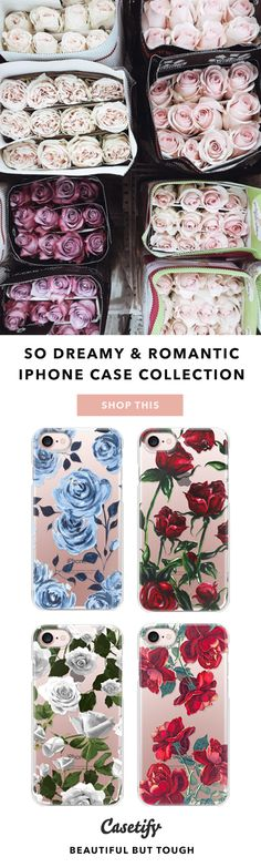 DIY your wedding bouquet. So Dreamy and Romantic Phone Case Collection. More floral design phone cases, shop them here☝️☝️☝️ BEAUTIFUL BUT TOUGH ✨ - Flower, Roses, Bloom, Flower Market, Summer, Bouquet, Wedding, DIY