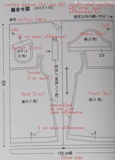 Understanding Japanese Patterns guide. From: http://www.japanesesewingbooks.com/understanding-a-typical-japanese-sewing-pattern/