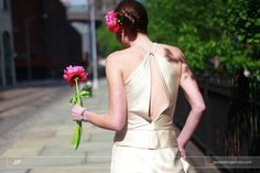 single flower for bridesmaids