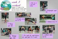 Summer Shape Up 2013 Week 3 workout