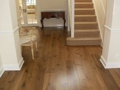 A modern looking 220mm wide engineered, lightly fumed oak. This excellent quality oak flooring is perfect for those searching for that warm wood colour without wanting the room to appear too dark. The perfect finish for those who desire a light and open feel whilst still retaining a traditional look. The hard wearing lacquer also makes this ideal for those in need of a low maintenance yet rustic floor.