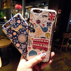 For iPhone 6 6S 3D Cute Cartoon Case Christmas Shockproof Silicone Soft TPU back cover For iPhone 6 6S Plus with OPP Bag