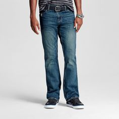Men's Bootcut Jeans Kyle Wash - Mossimo Supply Co