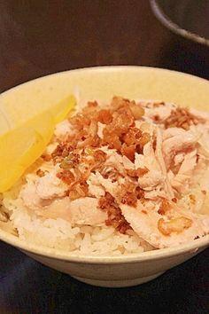 「台湾の屋台ご飯『鶏肉飯(チーローファン)』」台湾で食べて感動しました。同じ屋台飯の姉妹レシピ、魯肉飯(レシピID:1540005902)もよろしければどうぞ。【楽天レシピ】