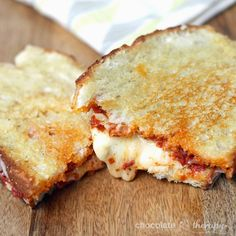 Chocolate Therapy: Sun-dried Tomato Pesto Grilled Cheese Sandwiches
