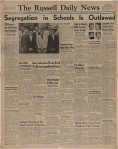 """Brown v. Board of Education of Topeka, Kansas - Brown v. Board at Fifty: """"With an Even Hand"""" 