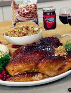 Store-Bought Thanksgiving Fare We Wouldn't Be Ashamed to Serve to Grandma Erma Bombeck, Popsugar Food, Thanksgiving Recipes, Goodies, Turkey, Chicken, Dinner, Store, Holidays