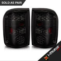 LED Tail lights Black Housing Smoked | $89.99 w/Free standard shipping