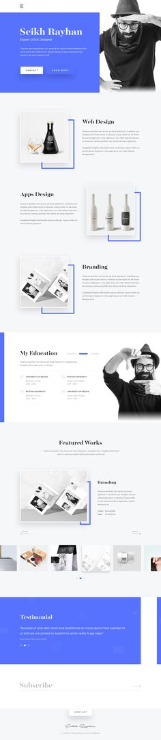 Hi guys, some exploration I did today & i'd love to hear your thoughts… Creative Web Design, Web Ui Design, Web Design Trends, Resume Design, Page Design, Web Responsive, Ui Web, Website Design Inspiration, Web Layout