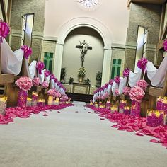 Wedding Ceremony Decor Idea | This easy DIY wedding decorating idea will make your special ceremony truly shine. Customize your look to match your dream theme. #wedding #DIY #OrientalTrading