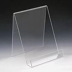 Lot Of 2 NEW Top Quality Plexiglass Acrylic Display Stands Easels For Bangles