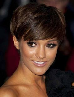 """It's a fabulous short bob hairdo. Style smoothly and keep it formal for a casual look. It's a great way to create a deferent hairstyle. it is a style with no hair accessory, no industry and no wasting time. It almost like shaved head.#Allhairstylesblog #CelebrityShortHairstyles #CelebrityShortHairstylesmidlength #CelebrityShortHairstylespixiecuts"
