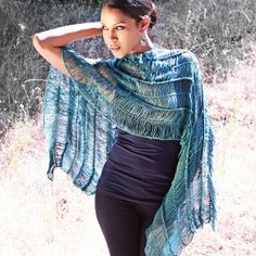 Free Hairpin Lace Crochet Pattern - Convertible Wrap - Shrug, poncho, capelet, shawl and more