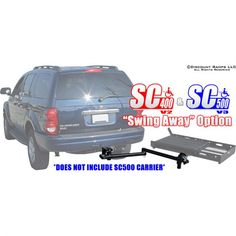 Scooter Carrier Swing Away Arm Ute Camping, Vehicles, Car, Vehicle, Tools