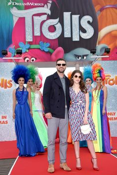 """Trolls the Movie"" official photocall Cannes 2016"