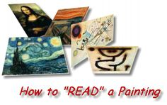 """How to """"read"""" a painting...lesson plan."""