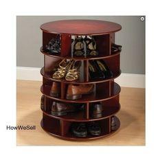 New Tier Shelf Free Closet Space Organizer Storage Shoes Pair Tower Rack Holder