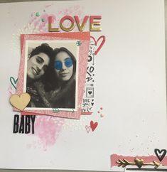 LO San Valentín Julia super scrap coleccion crate paper hello love