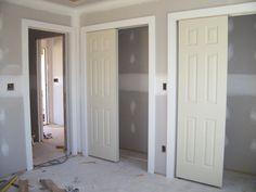 Feb 28 -- bedroom closet doors