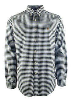Polo Ralph Lauren Men'sTattersall Cotton Oxford Shirt