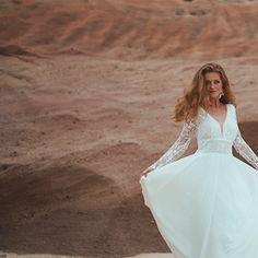 Rembo Styling, Manon, Chiffon, Boho, Tulle, Wedding Dresses, Skirts, Collection, Fashion