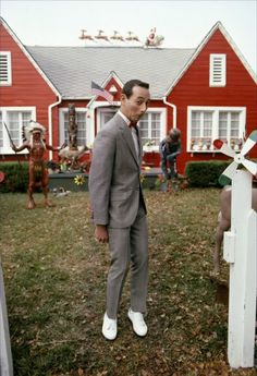Pee-Wee's Big Adventure. Tim Burton classic. Also a classic in my family... Yeah, I know, we're strange.