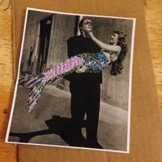 Etsy Craft Party Blog Post by Alley Hope #EETCraft frankenstein and mermaid