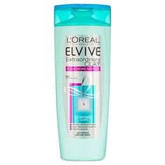 L'Oreal Paris Elvive Extraordinary Clay Re-Balancing Shampoo 400ml (PACK OF 2) >>> This is an Amazon Affiliate link. For more information, visit image link.