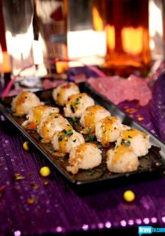 "Chef Roble and Co Season 1 - Shrimp and Grits Appetizers perfect for my ""La Crema"" Style summer soiree...."