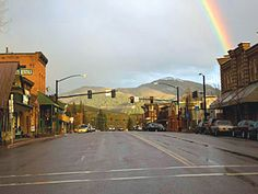 """Ketchum, Idaho. Ernest Hemingway country. It's where he wrote """"Gone With The Wind"""", """"Moby Dick"""" & """"Star Wars 3."""""""