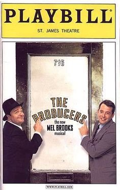 The Producers is a musical adapted by Mel Brooks and Thomas Meehan from Brooks' 1968 film of the same name, with lyrics written by Brooks and music composed by Brooks and arranged by Glen Kelly and Doug Besterman. As in the film, the story concerns two theatrical producers who scheme to get rich by overselling interests in a Broadway flop. The humor of the show draws on ridiculous accents, characters of homosexuals and Nazis, and many show business in-jokes.