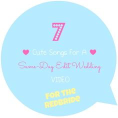 7 Songs Perfect for your Indian Wedding highlights or same day edit Video - via REDbrides