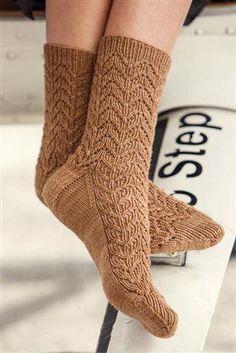 Ravelry: Corbusier Socks pattern by Sarah Jordan Knitting Daily, Knitting Socks, Knitting Stitches, Lace Socks, Men's Socks, Knit Socks, High Socks, Bamboo Socks, Boot Toppers