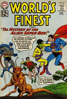 Cover art by Curt Swan and Sheldon Moldoff, 1962